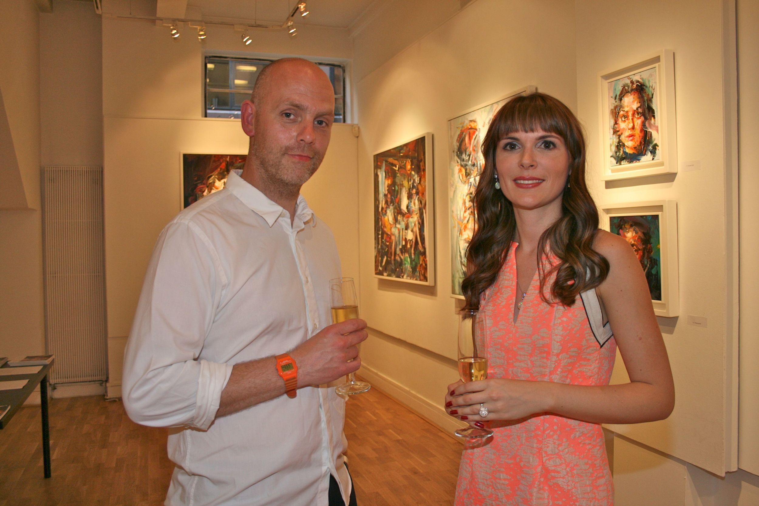 Paul Wright and Elena Shchukina PHOTO CREDIT: ANTONIA COULING