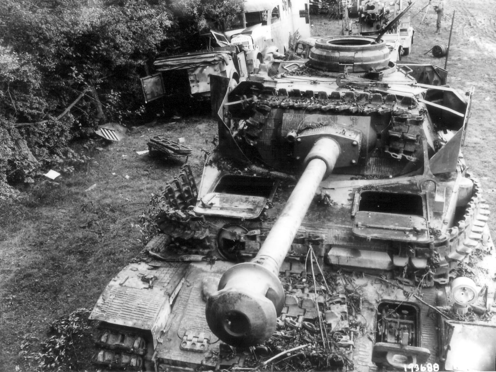 Panzer IV in Normandy