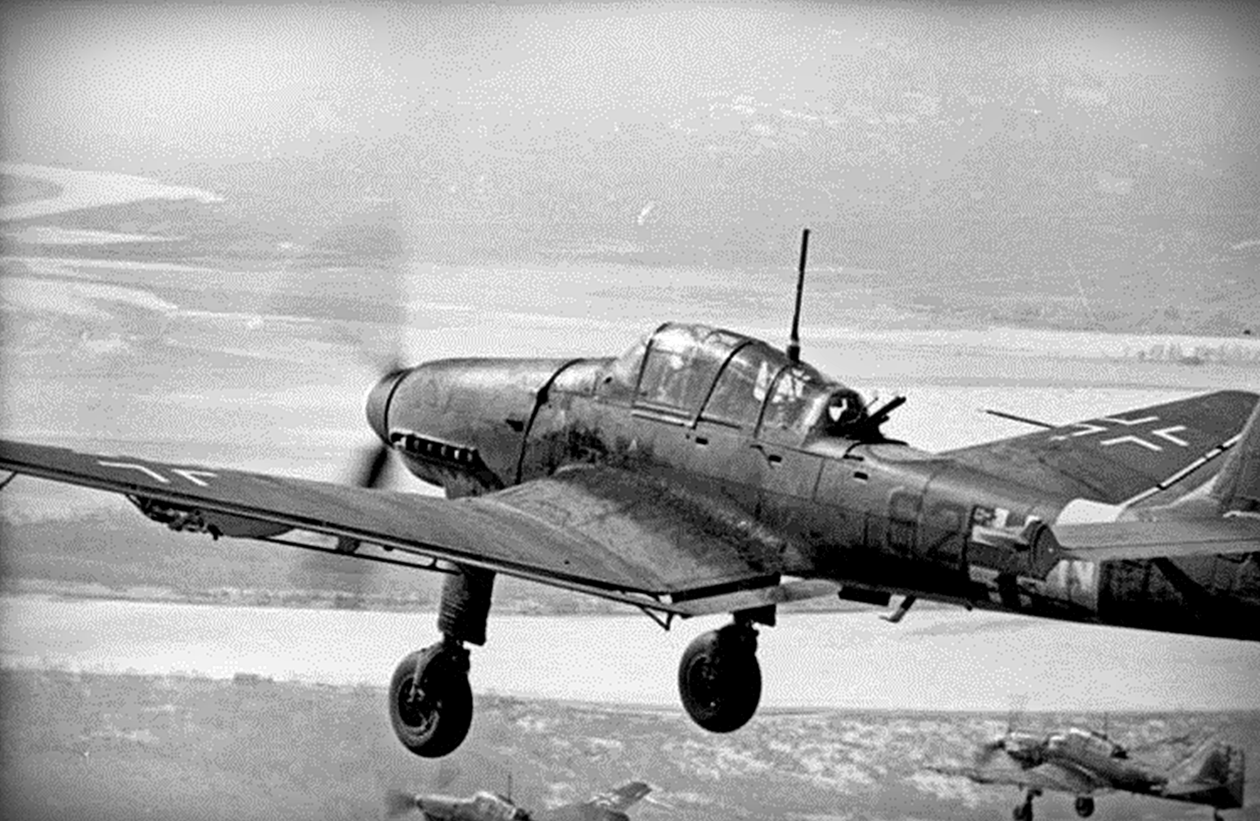 Ju-87 Stuka Dive Bomber