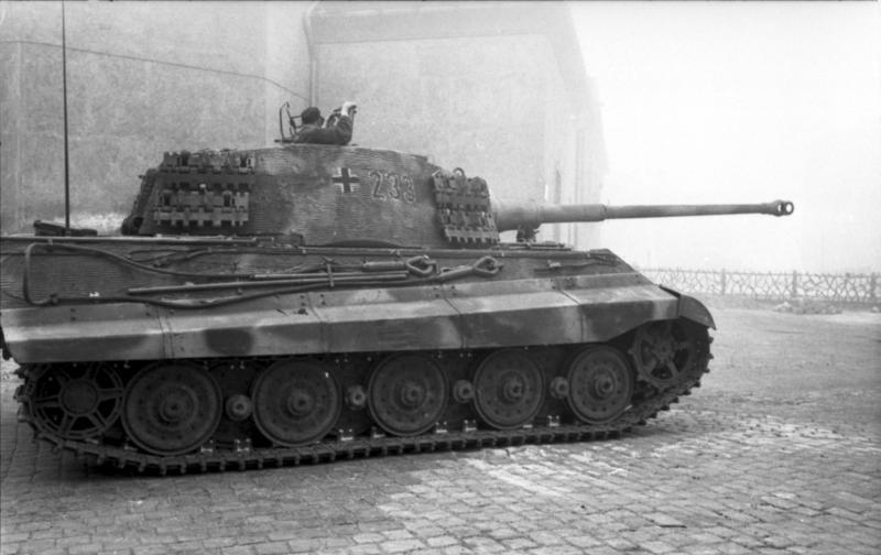 German Tiger II - Panzer VI Königstiger
