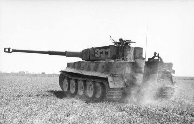The infamous Tiger 1E