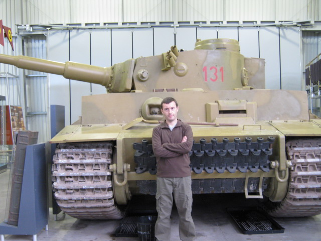 Charlie and Tiger 131, the World's only operational Tiger I