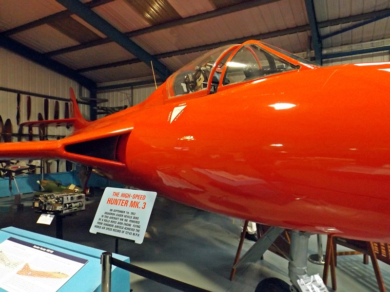 Neville Duke's Hawker Hunter - World Airspeed Record