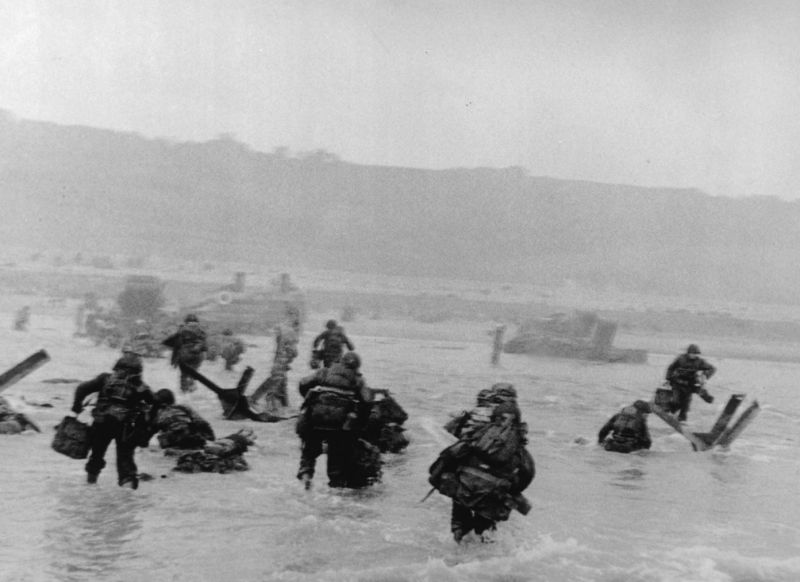 Omaha Beach, June 6 1944, D-Day Landings