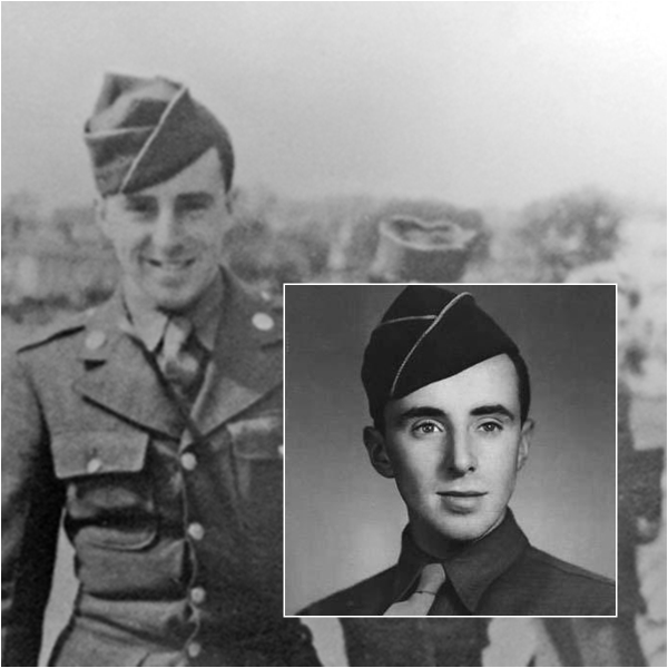 PFC Donald McCarthy, Headquarters Company, First Battalion, 116th Infantry, 29th Division
