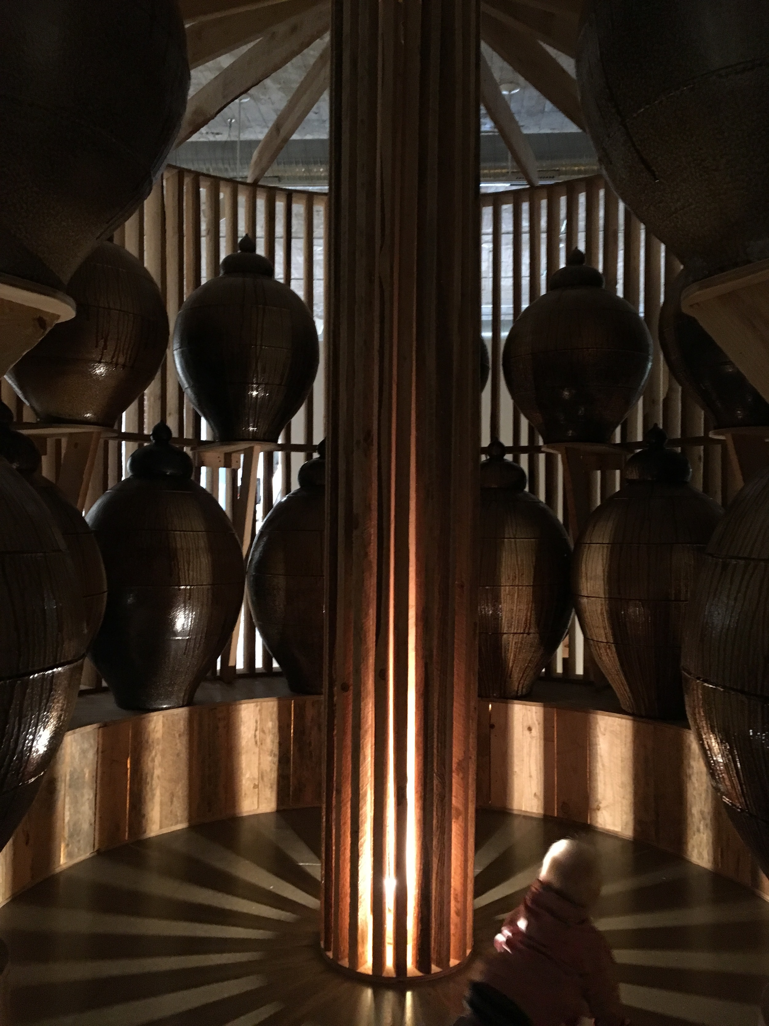 Amazing installation by Daniel Johnston