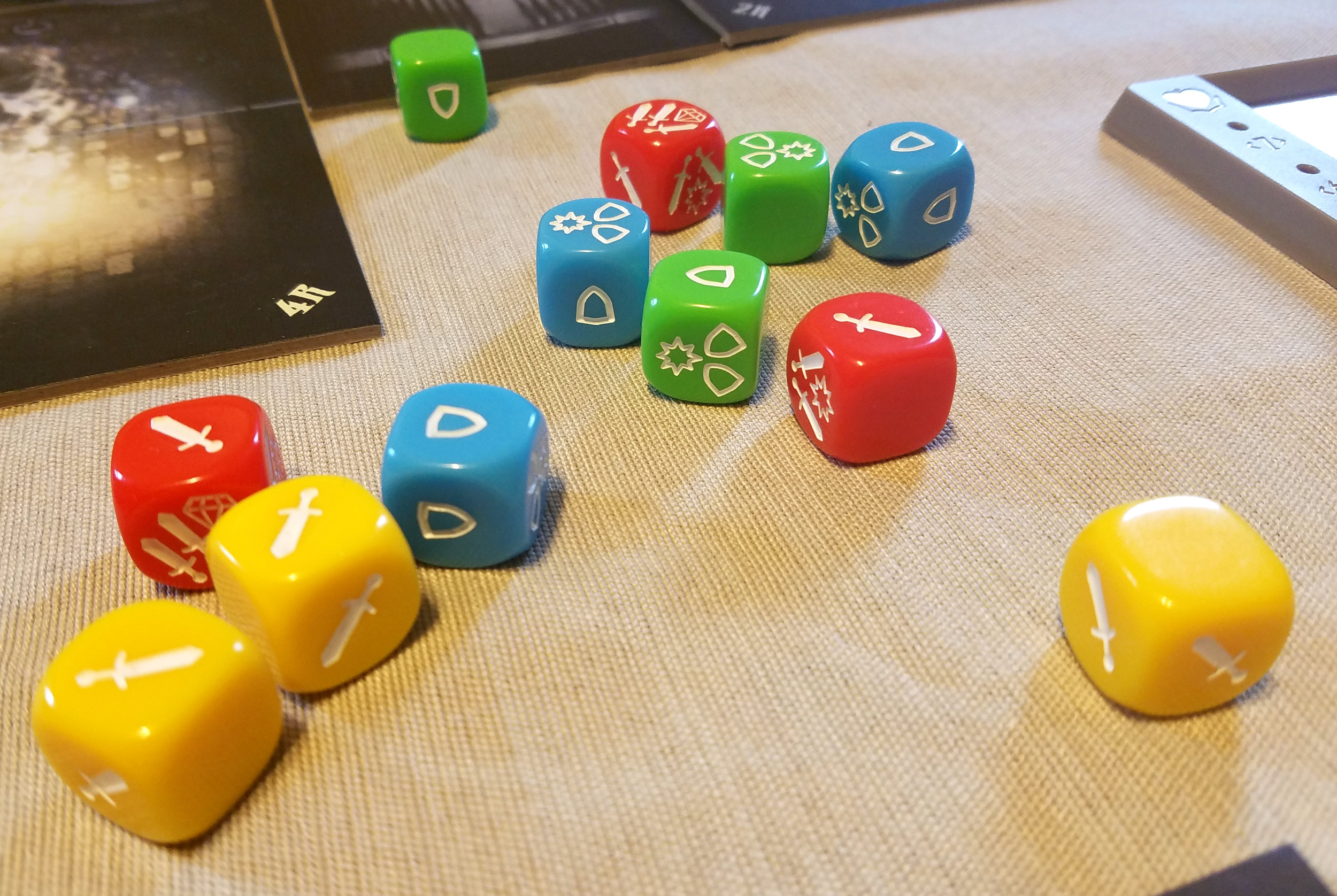 The dice are colorful and super easy to get the hang of.