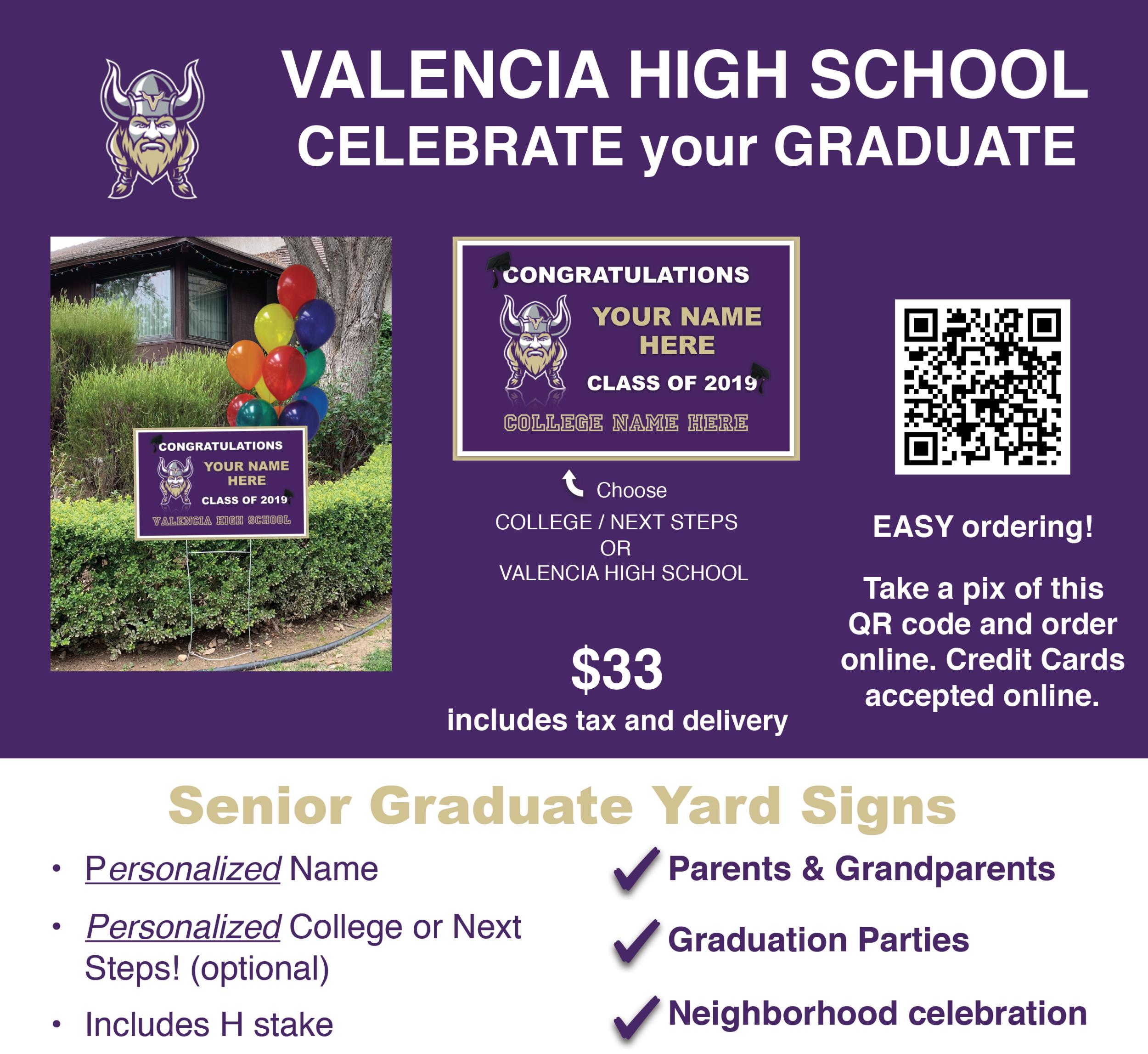 Senior Graduate Yard Signs