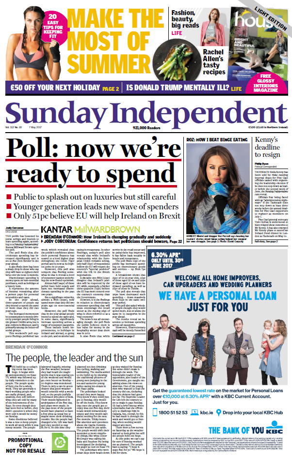 Sunday Indo Front Page.png
