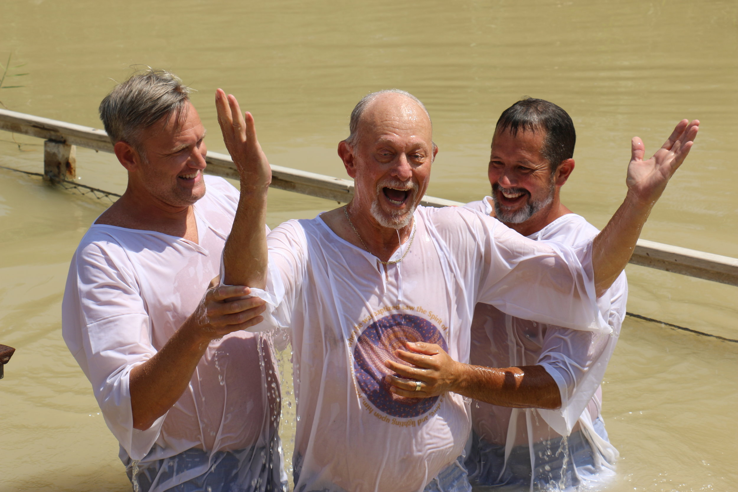 Is always special when a Leader crosses the Jordan River in his own life. Welcome to your Promised Land!