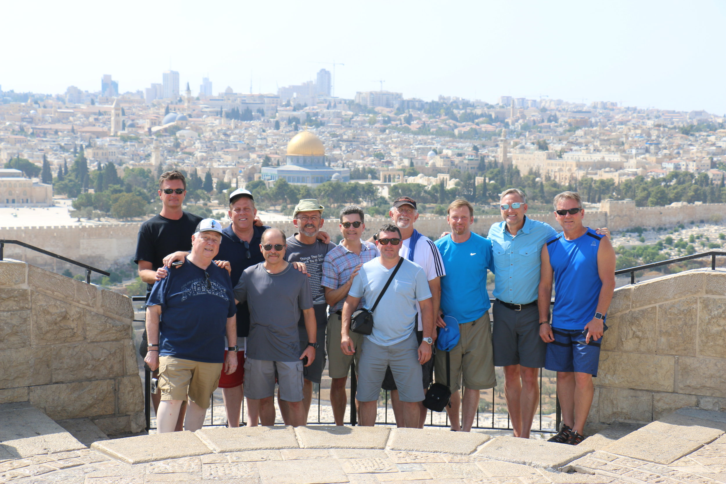 A group of Leaders from the USA arriving to their eternal home - Jerusalem