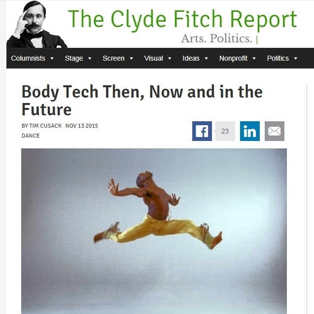 The Clyde Fitch Report by Tim Cusack - 11/13/15