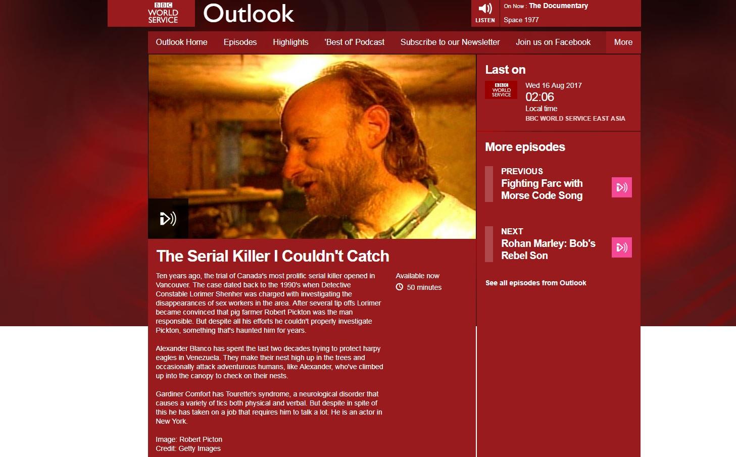 BBC World Broadcast (35:00) - 8/16/17