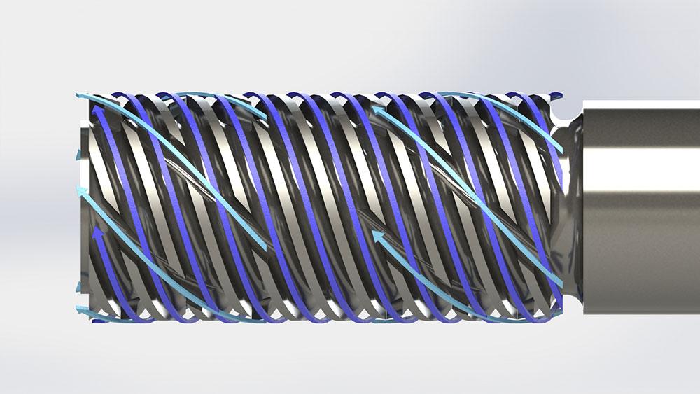 R. Dray VI1 Mixer flow paths