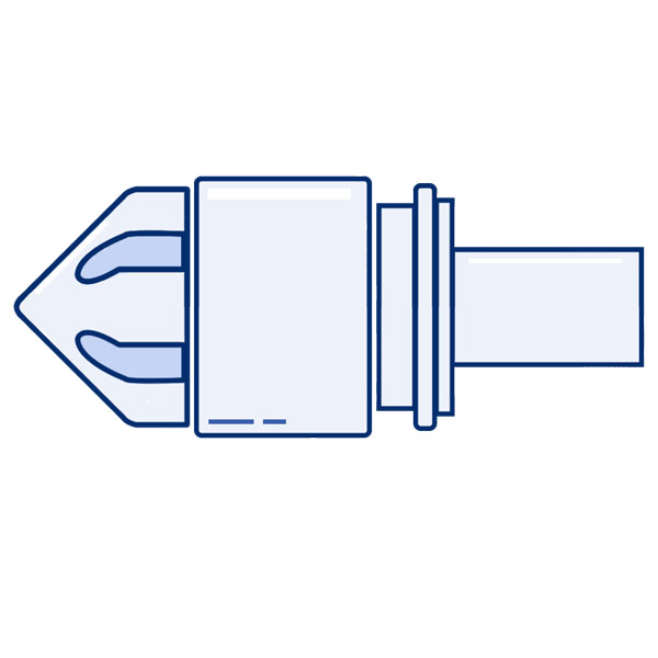 Injection Molding Valve Icon