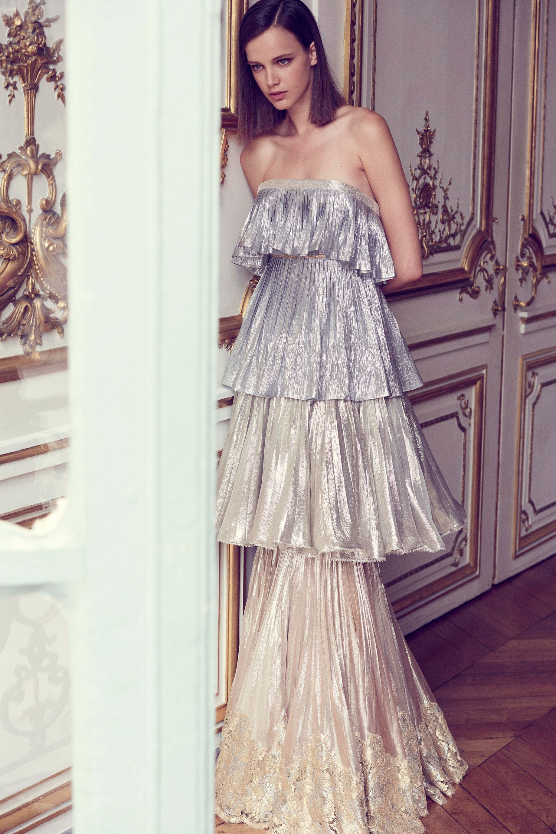 ALEXIS MABILLE: Ombre Metallic Tiers