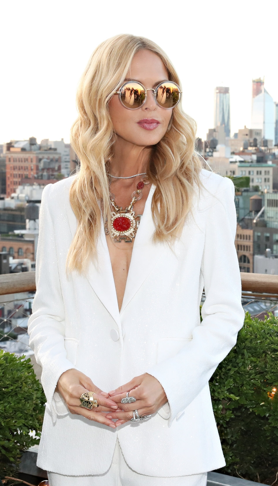 - Last night, Rachel Zoe, Designer & CEO, and Brides welcomed guests including brides-to-be Katie Stevens (Freeform's The Bold Type) and Rachel Feinstein (HBO's Crashing), plus Mary Orton (Memorandum), designer Danielle Frankel, wedding industry notables including planner Jung Lee, and owner of famed NYC luxury bridal atelier Mark Ingram, and more for an evening of cocktails and hors d'oeuvres on a private terrace at The Public Hotel. The evening also included a special viewing of her 2019 bridal collection. Brides Executive Director, Lisa Gooder, toasted Rachel and welcomed her into the bridal community before Zoe gave remarks on some of the collection's looks. Zoe also lent her expertise as she chatted with  some of the engaged attendees including Katie Stevens and Rachel Feinstein for each of their upcoming weddings. Read more about Rachel's new collection and inspiration here!