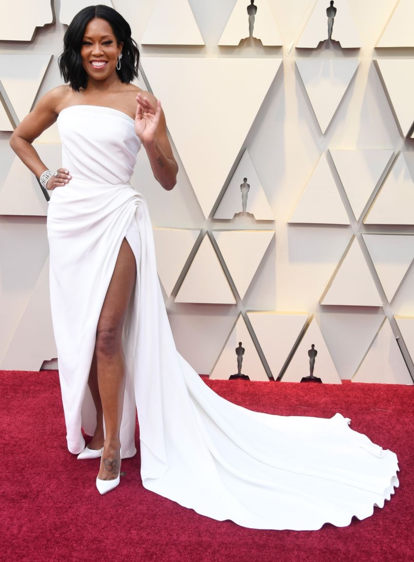 REGINA KING in Oscar de la Renta
