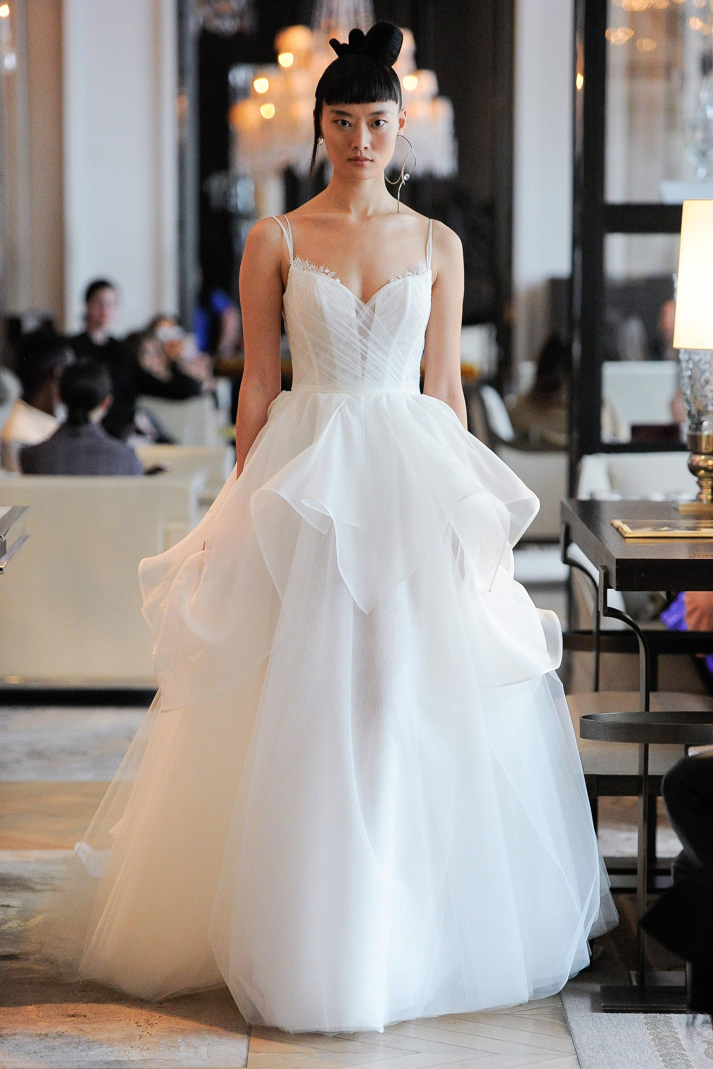 Ines di Santo, Bridal Spring 2020, New York, April 2019