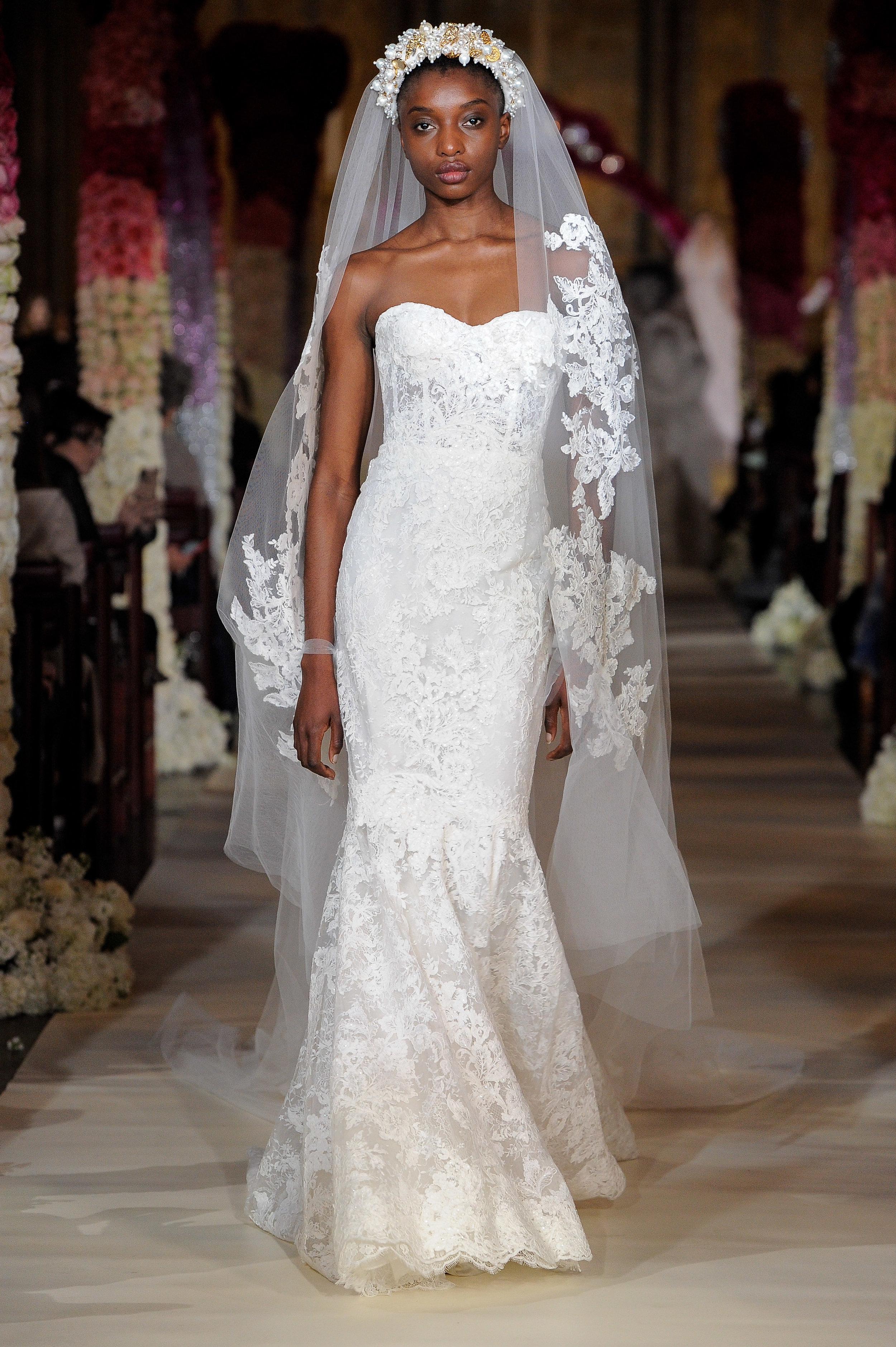 Reem Acra, Bridal Spring 2020, New York, April 2019
