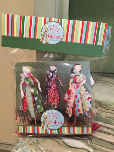 RAGS to WISHES Prairie Rag Doll Kit