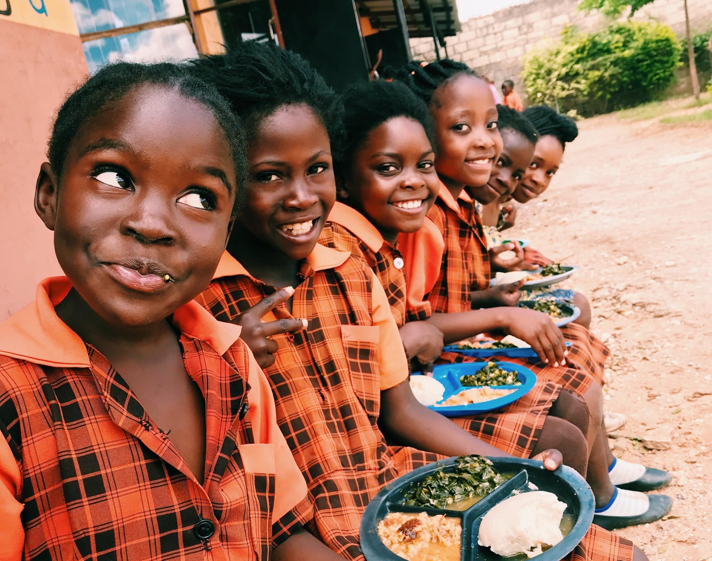 Students at Dotroda School