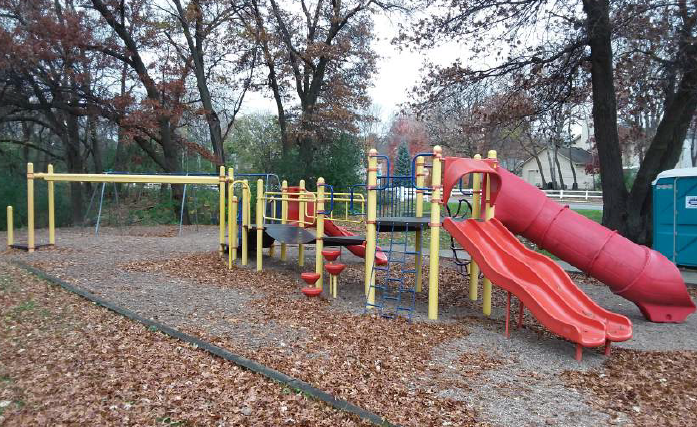 Actual Small Children's Playground Set to be Purchased