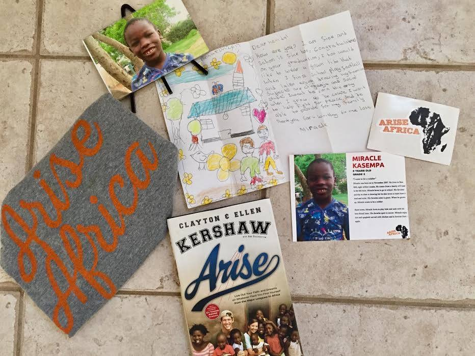 Kendall's first letter from Miracle