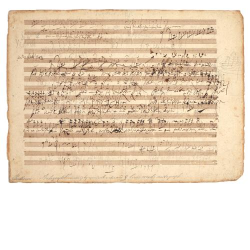Lot 294 - Ludwig Van Beethoven (1770-1827)