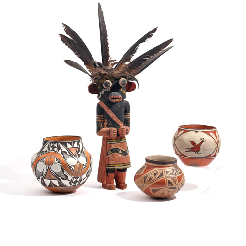 Selected Native American Items