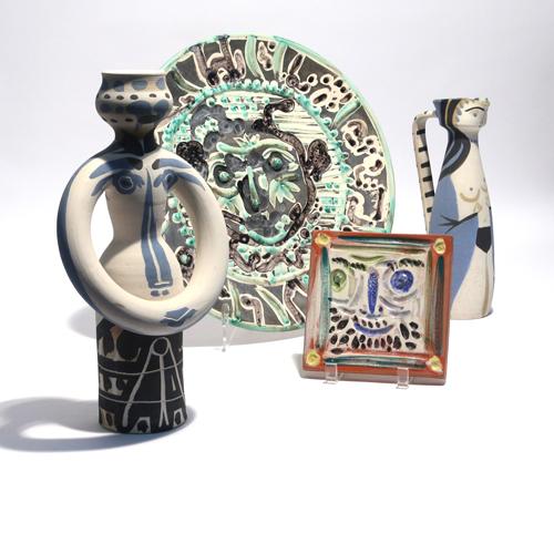 Ceramics by Pablo Picasso
