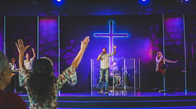 Hearts open and hands lifted - who's ready to worship?? 🙌 We can't wait to see today at 10:30am! #SundayService #WorshipWithUs #BringAFriend
