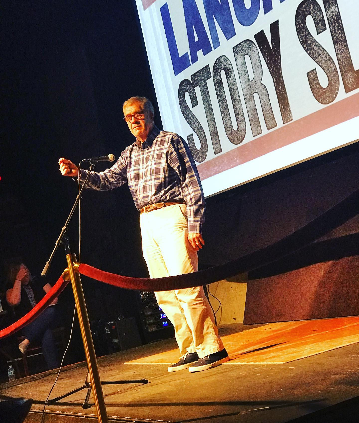 Tony Crocamo, no stranger to our stage, will emcee our August Story Slam!