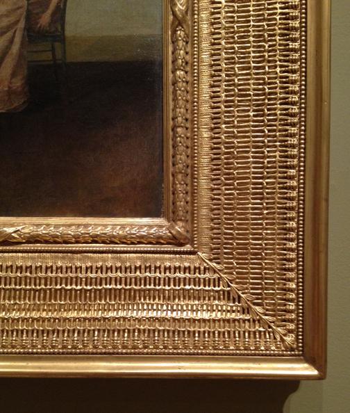 Stanford White Grille Design Frame circa 1895