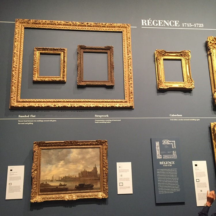Center-and-corner frames became increasingly popular during the Regence period.
