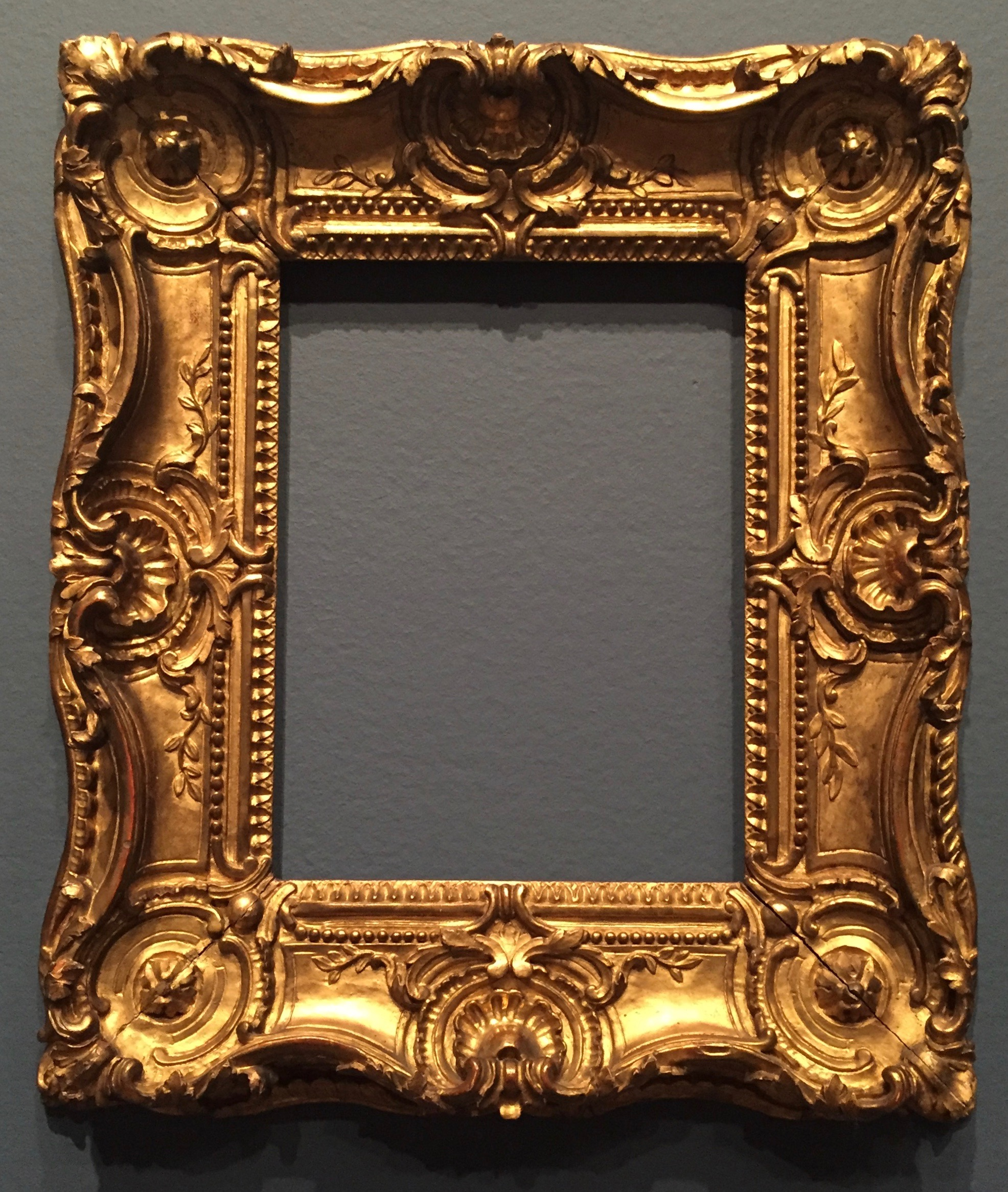 Late 18th Century French Louis XV style carved frame