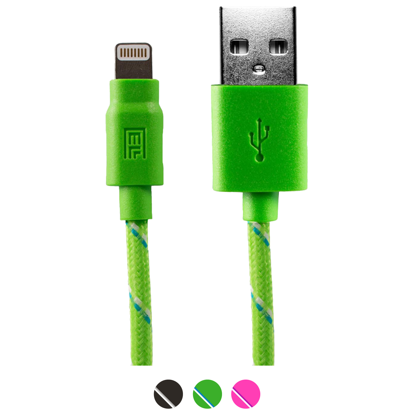 6.5' BRAIDED CHARGE & SYNC CABLE FOR APPLE LIGHTNING