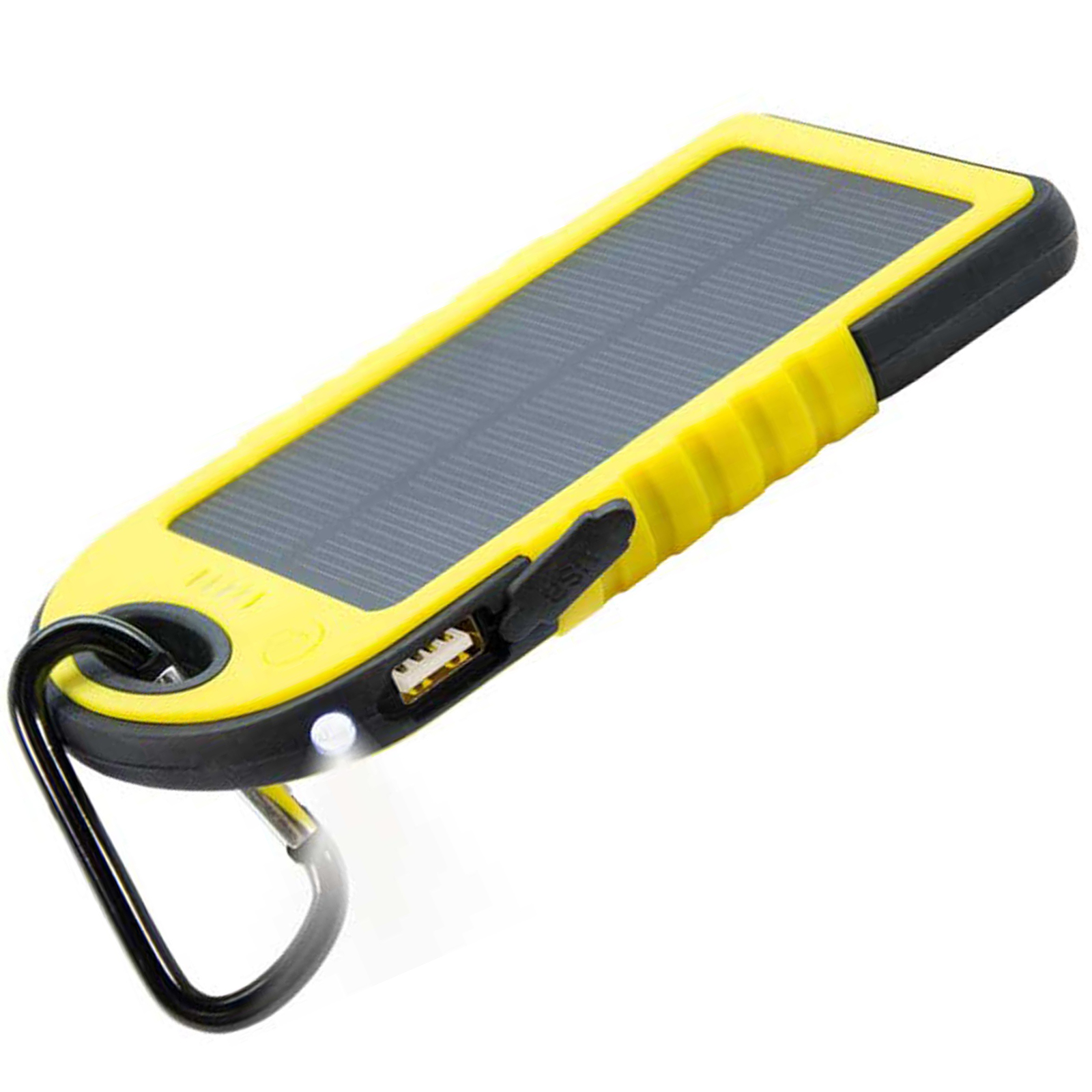 4000 mah RUGGED SOLAR POWER BANK