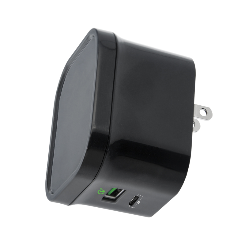 adaptive fast charging wall charger with type c power delivery