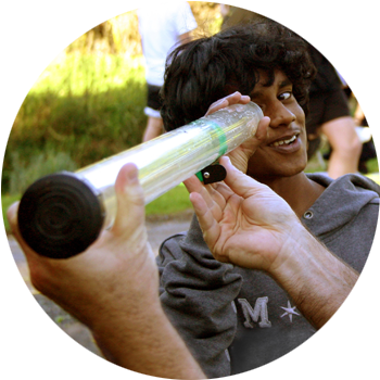 Visual Assessments   Students examine riparian areas, environmental & geographic factors that play a role in water quality. Along with turbidity (water clarity), temperature & tests on water volume movement.