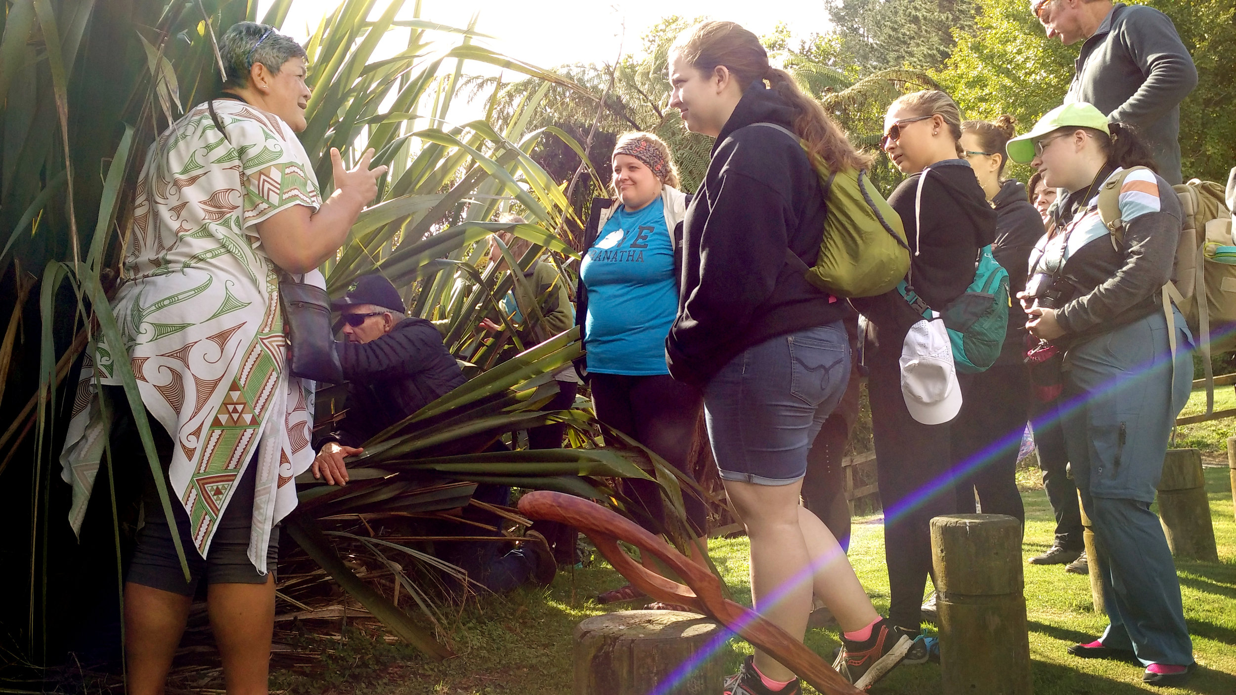 LAKE SUPERIOR STATE UNIVERSITY - HEALTH, BIOLOGY, CULTURE AND ECOLOGY PROGRAM 2019   Nursing & Biology students collaborated learning about the connections between the environment & human health, with an emphasis on the values & perspectives of indigenous Maori people. '   Gallery