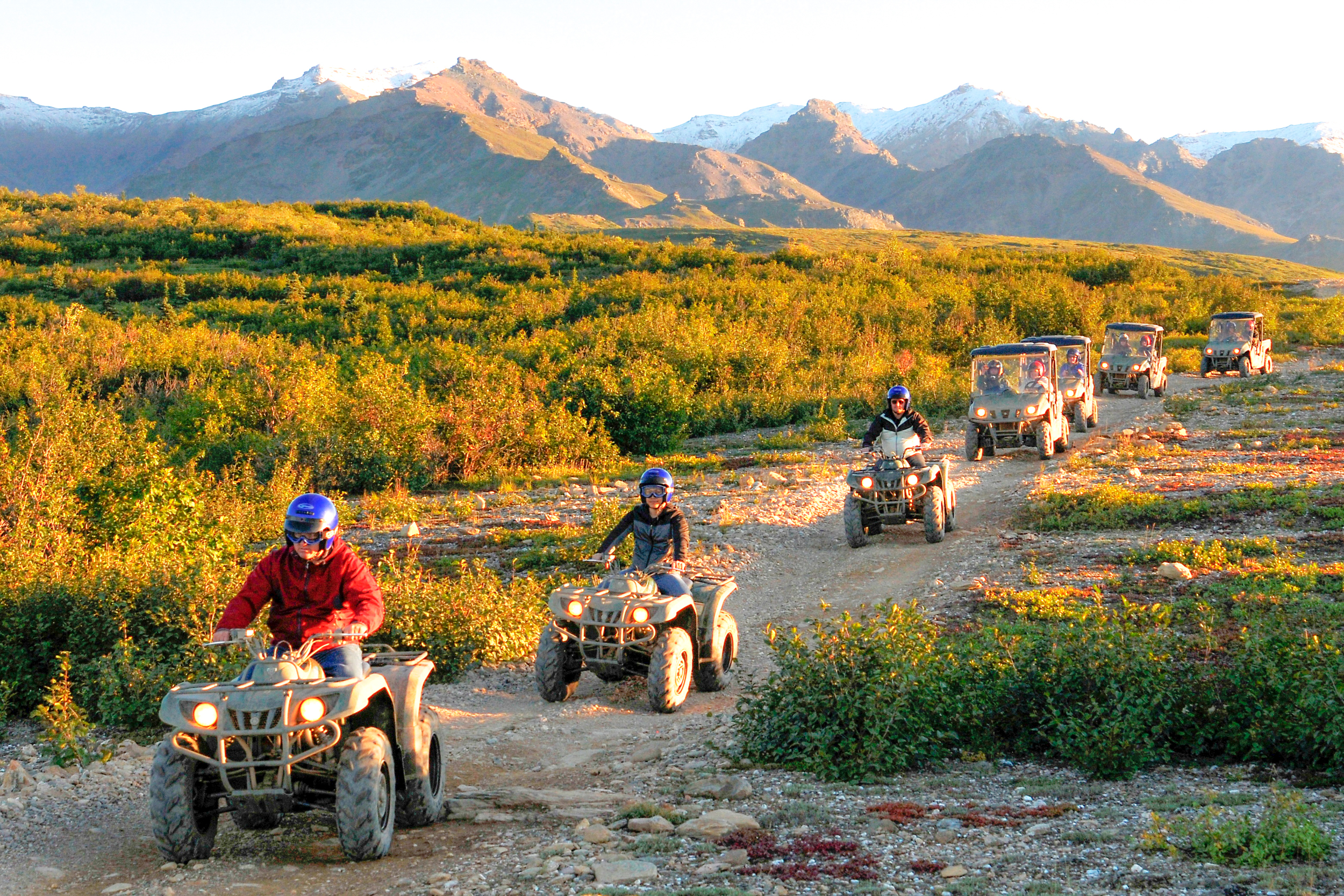 ATV in the Alaskan wilderness!