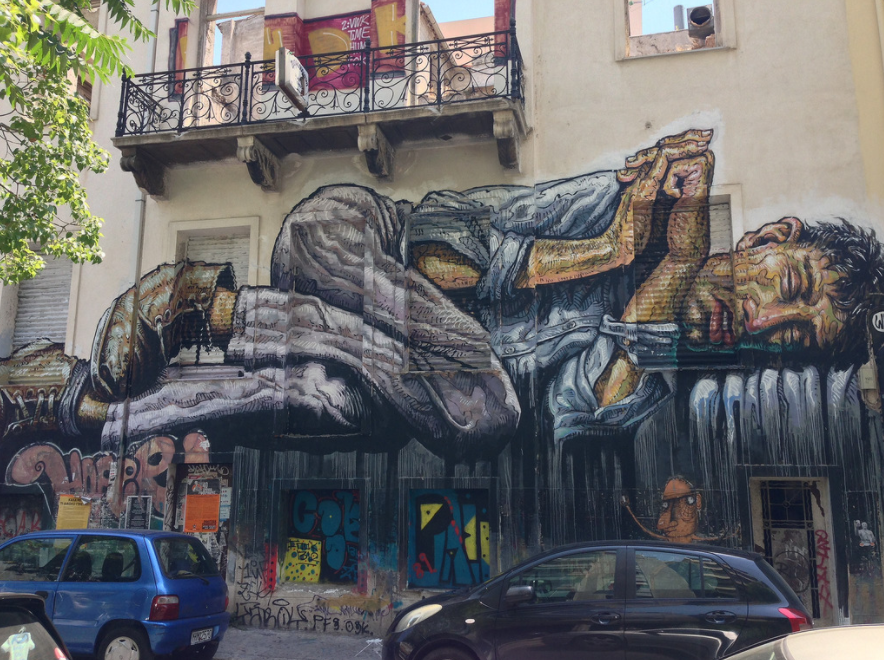 WHEN DESPERATION TURNS INTO ART | ATHENS - The harsh crisis has put Athenians (back) in touch with their walls. Athens has become a centre for graffiti – and even modern art.by Petros Konstantinidis