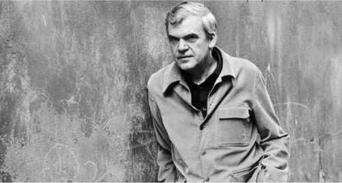 Milan Kundera, 1980. Photo:  The Paris Review