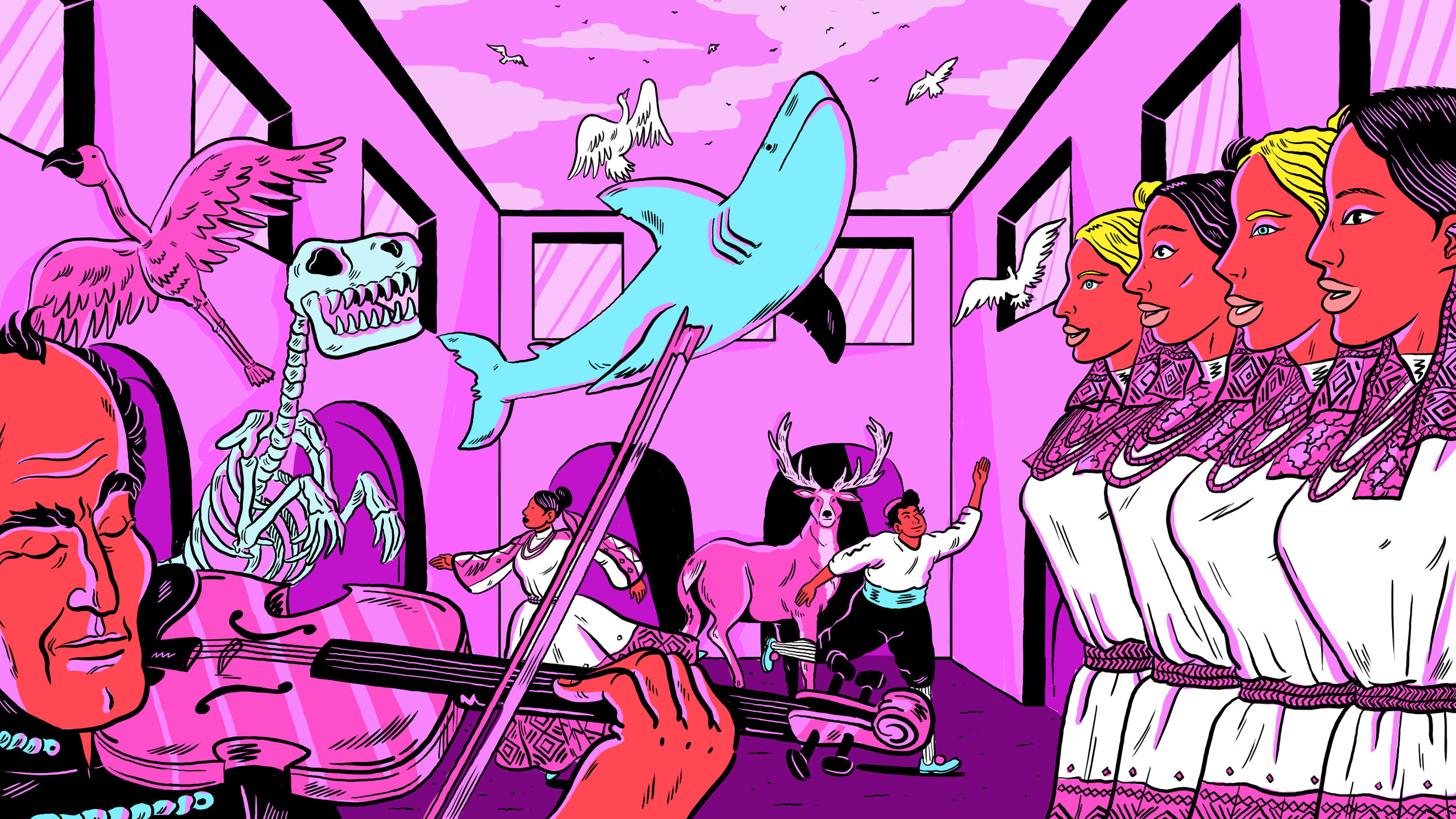 Illustration by  Simon Bournel