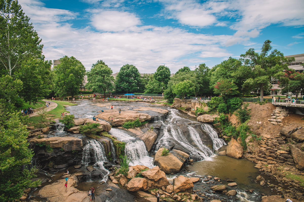 Greenville - Falls Park on the Reedy
