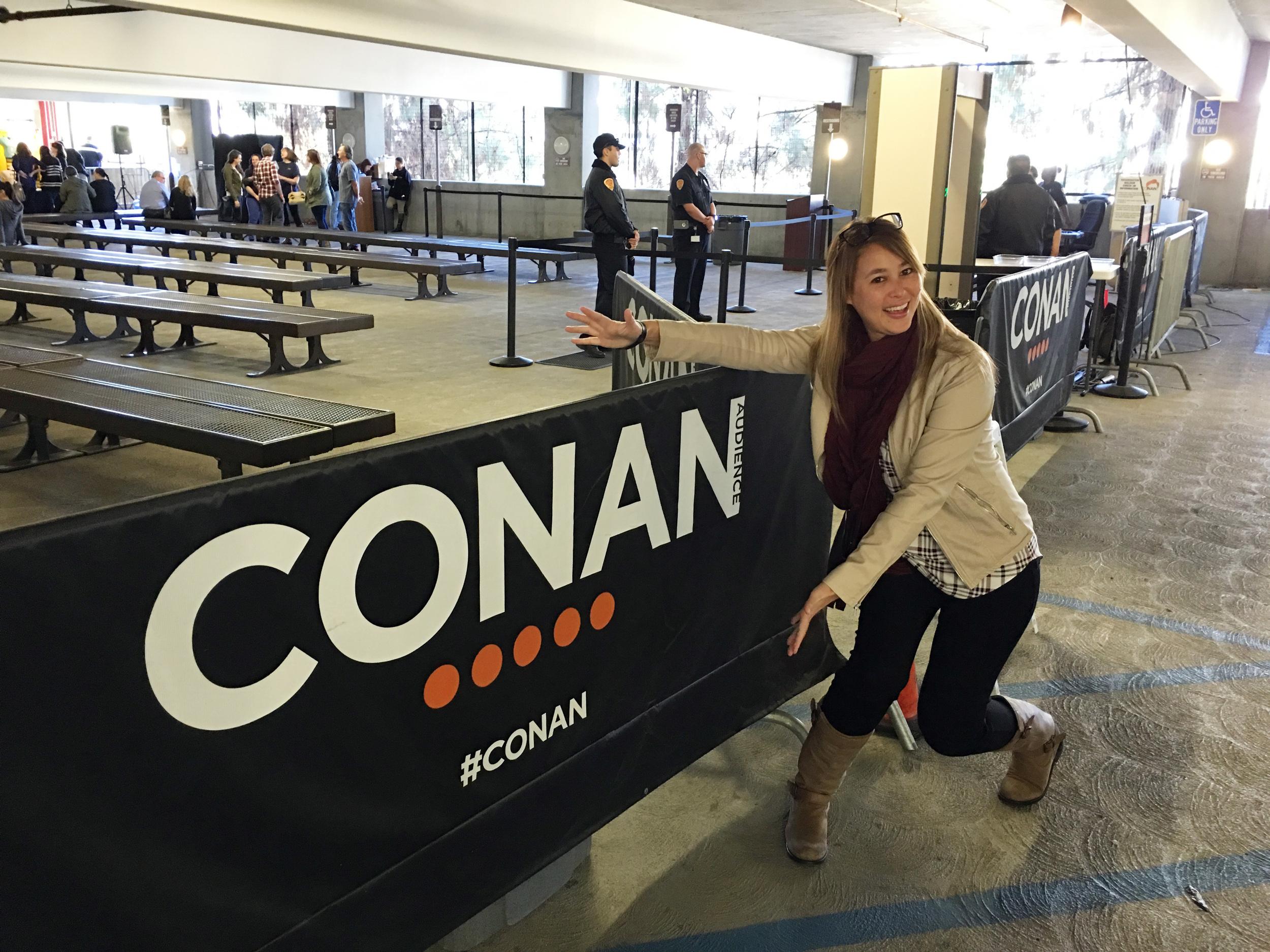 CONAN CHECK-IN