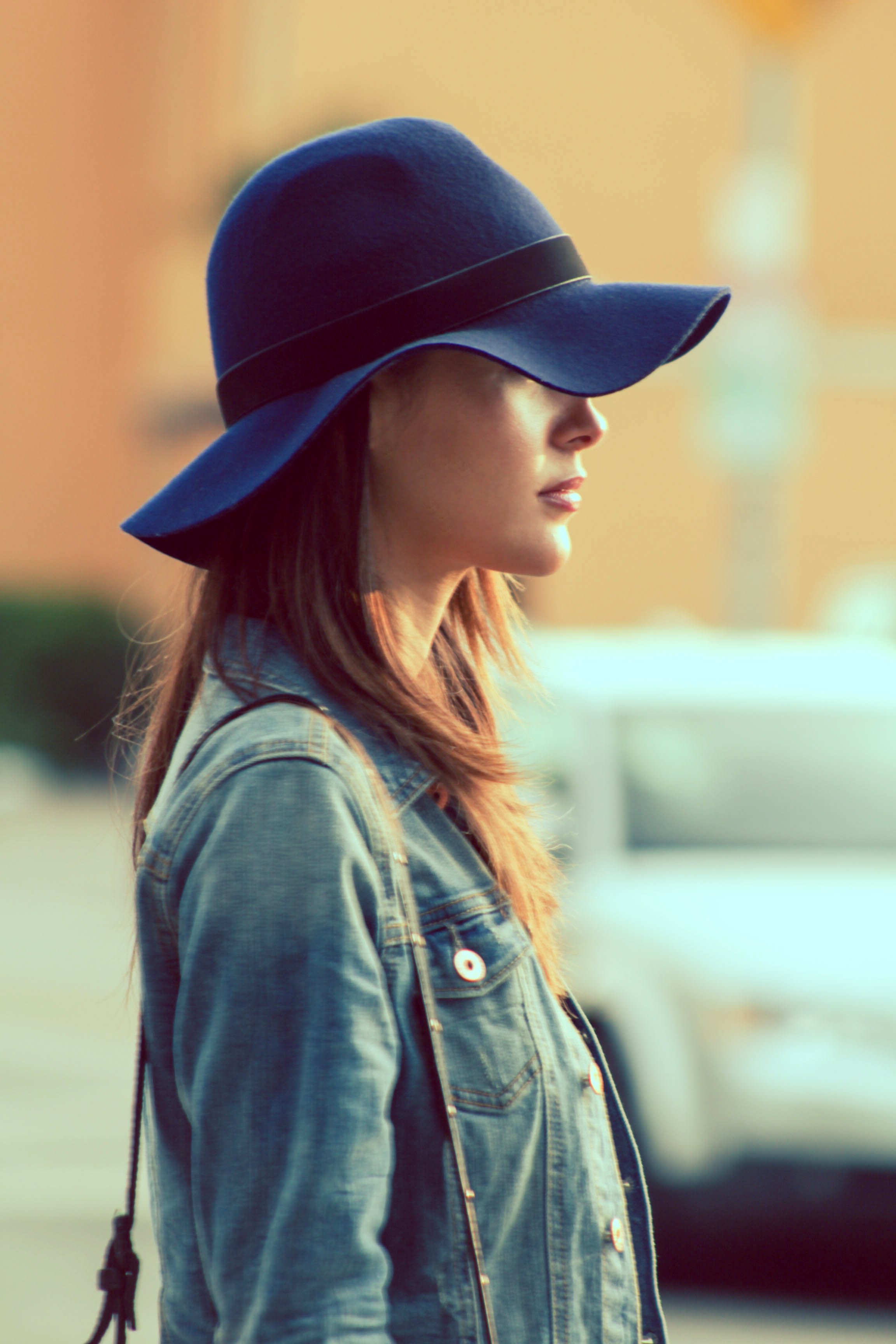 Medium Brim Hat from Sole Society