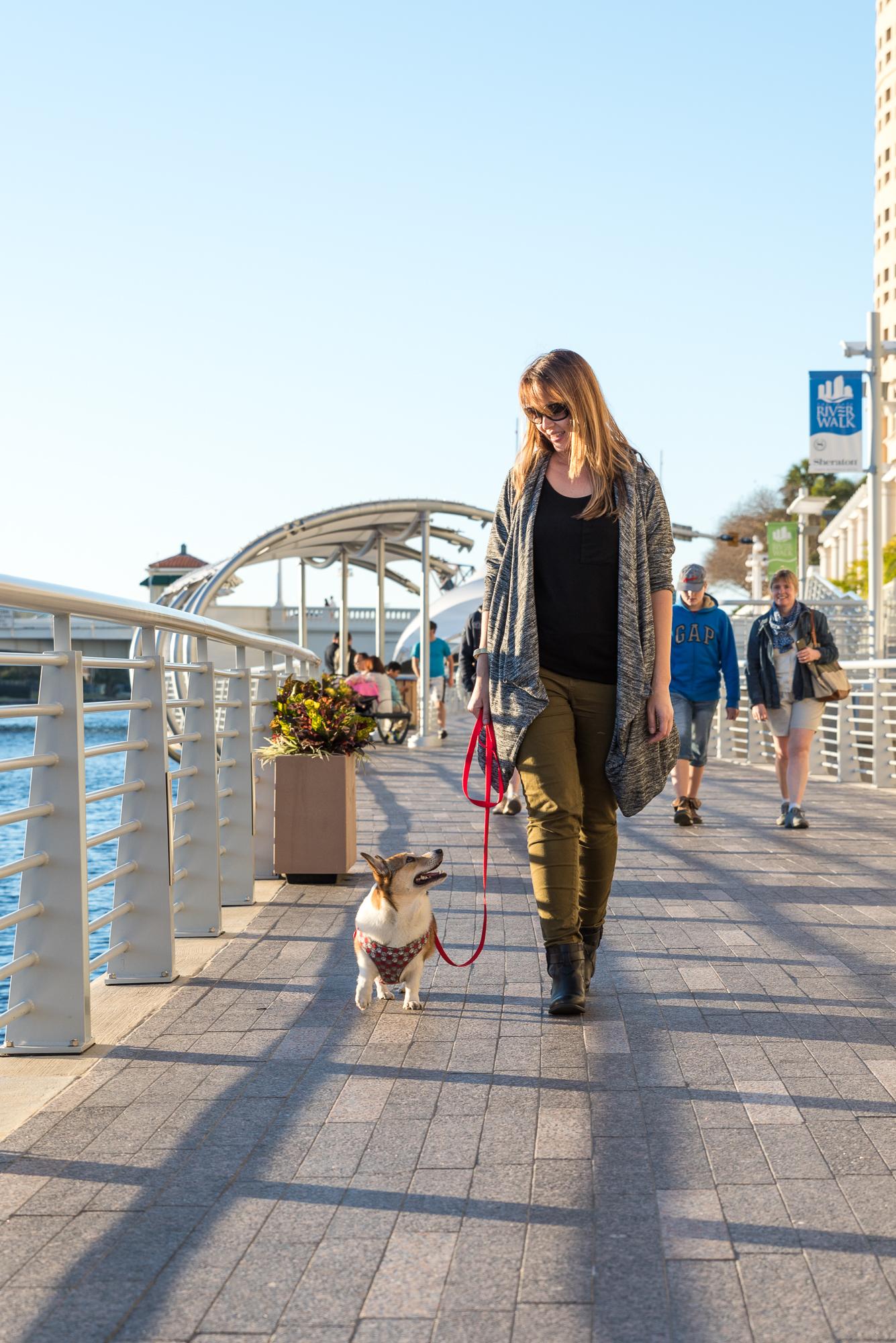 Taking a walk on the riverwalk