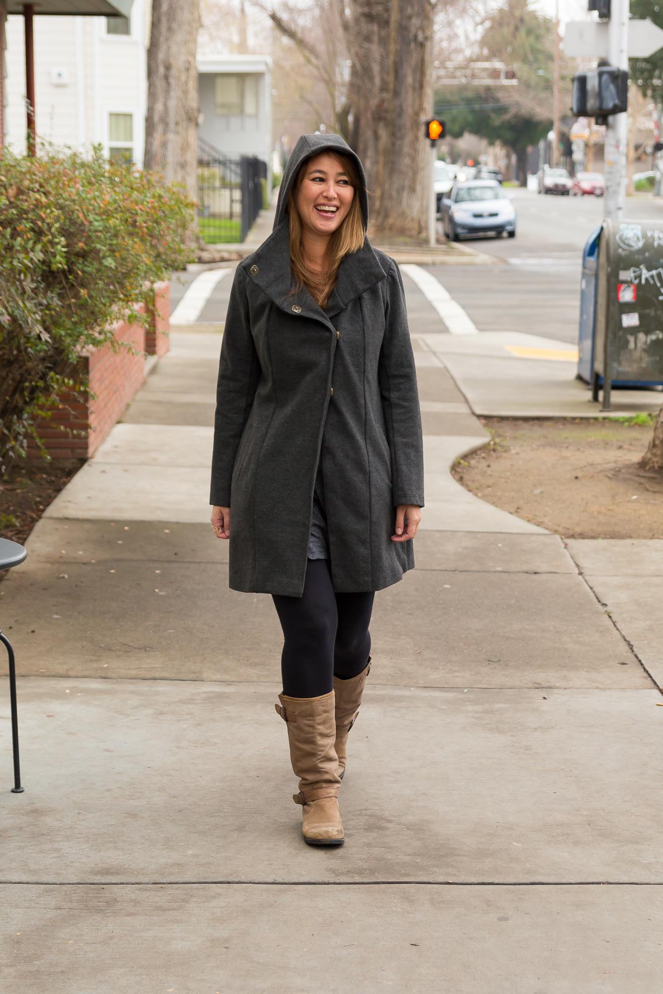 Melissa Fleis' All Day Coat